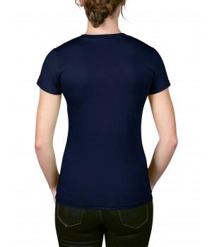 Дамска тениска Anvil тъмно синя