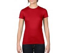 Дамска, червена тениска Anvil