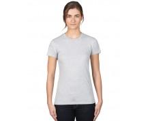 Светло сива, дамска тениска Anvil