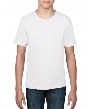 Детска, бяла тениска Anvil