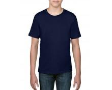 Детска, тъмно синя тениска Anvil