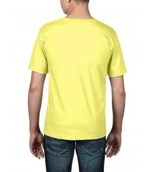 Детска, жълта тениска Anvil