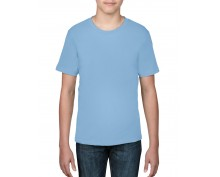 Детска, светло синя тениска Anvil