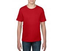 Детска, червена тениска Anvil