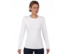 Дамска тениска дълъг ръкав Anvil