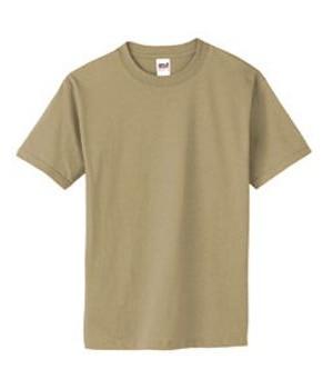 Тениска класическа Anvil-бежова