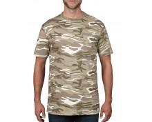 Мъжка камуфлажна тениска Anvil