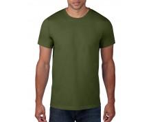 Мъжка тениска Anvil цвят маслено зелен