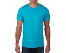 Мъжка тениска Anvil цвят карибско син