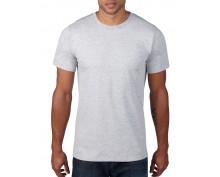 Мъжка тениска Anvil светло сива