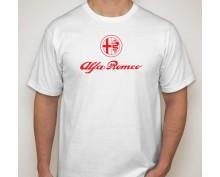 Тениска с щампа Alfa Romeo-001