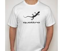 Тениска с щампа Audi Quatro