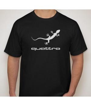 Тениска с печат Audi Quatro