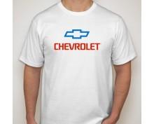 Тениска с печат Chevrolet