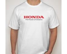 Тениска с печат Honda Power of Dreams