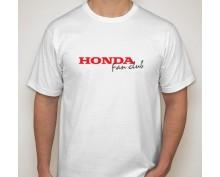Тениска с печат Honda Fan Club