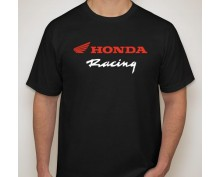 Тениска с печат Honda Racing