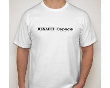 Тениска с печат Renault Espace