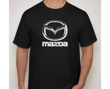 Тениска с печат Mazda