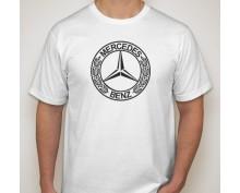 Тениска с печат Mercedes Benz