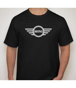 Тениска с печат Mini Cooper