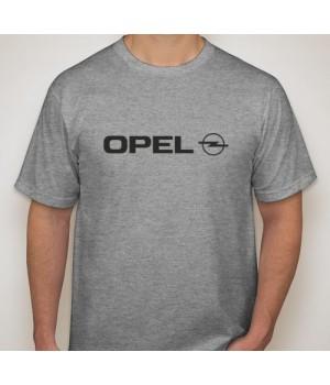 Тениска с печат Opel