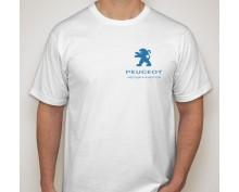 Тениска с печат Peugeot-002