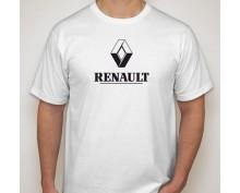 Тениска с печат Renault