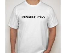 Тениска с печат Renault Clio