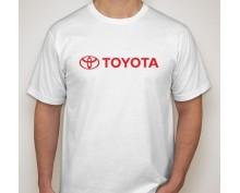 Тениска с печат Toyota
