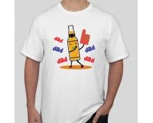 Тениска Dad drink beer