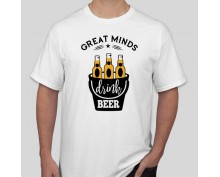 Тениска Great Minds