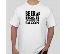 Тениска Beer & Bacon