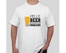 Тениска Hello beer