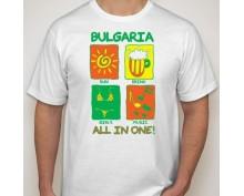 Тениска с щампа  All inclusive