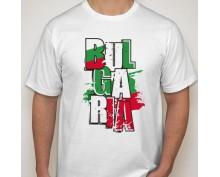 Мъжка тениска с щампа България