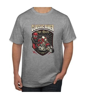 Тениска с печат Classic Biker