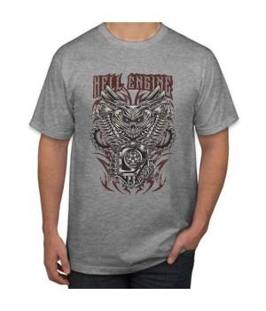 Тениска с печат  Hell Engine