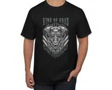 Тениска с печат King of Road