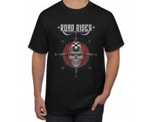 Тениска с печат Road Rider