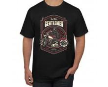 Тениска с печат Gentlemen
