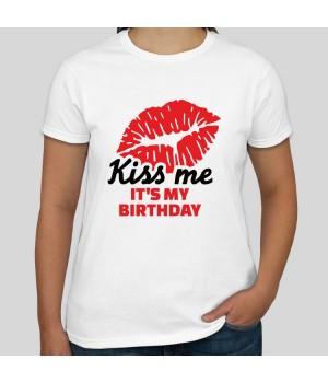 Дамска Тениска Kiss me