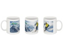 Bansko ski resort  printed mug