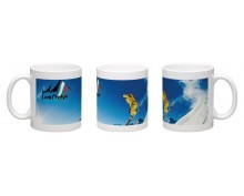 Pamporovo ski resort  printed mug