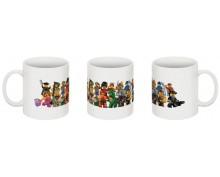 Lego printed  mug