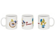 The Simpsons family mug