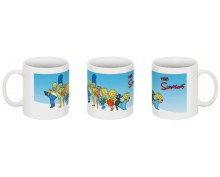 The Simpsons family-3 mug