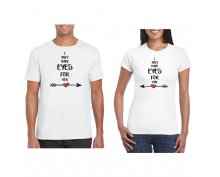 T-shirt for couple  Eyes for her