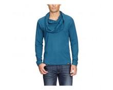 Синя тениска с дълъг ръкав Born in USA
