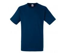 Тъмно синя тениска Heavy cotton